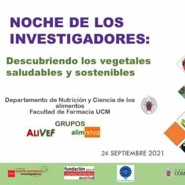 Noche de los investigadores: Descubriendo los vegetales saludables y sostenibles